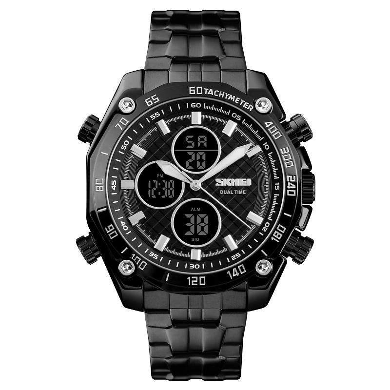 ساعت مچی عقربه ای مردانه اسکمی مدل ۱۳۰۲BLK