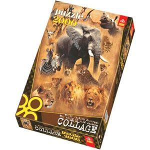 پازل 2000 تکه تریفل مدل The World of Wild Animals