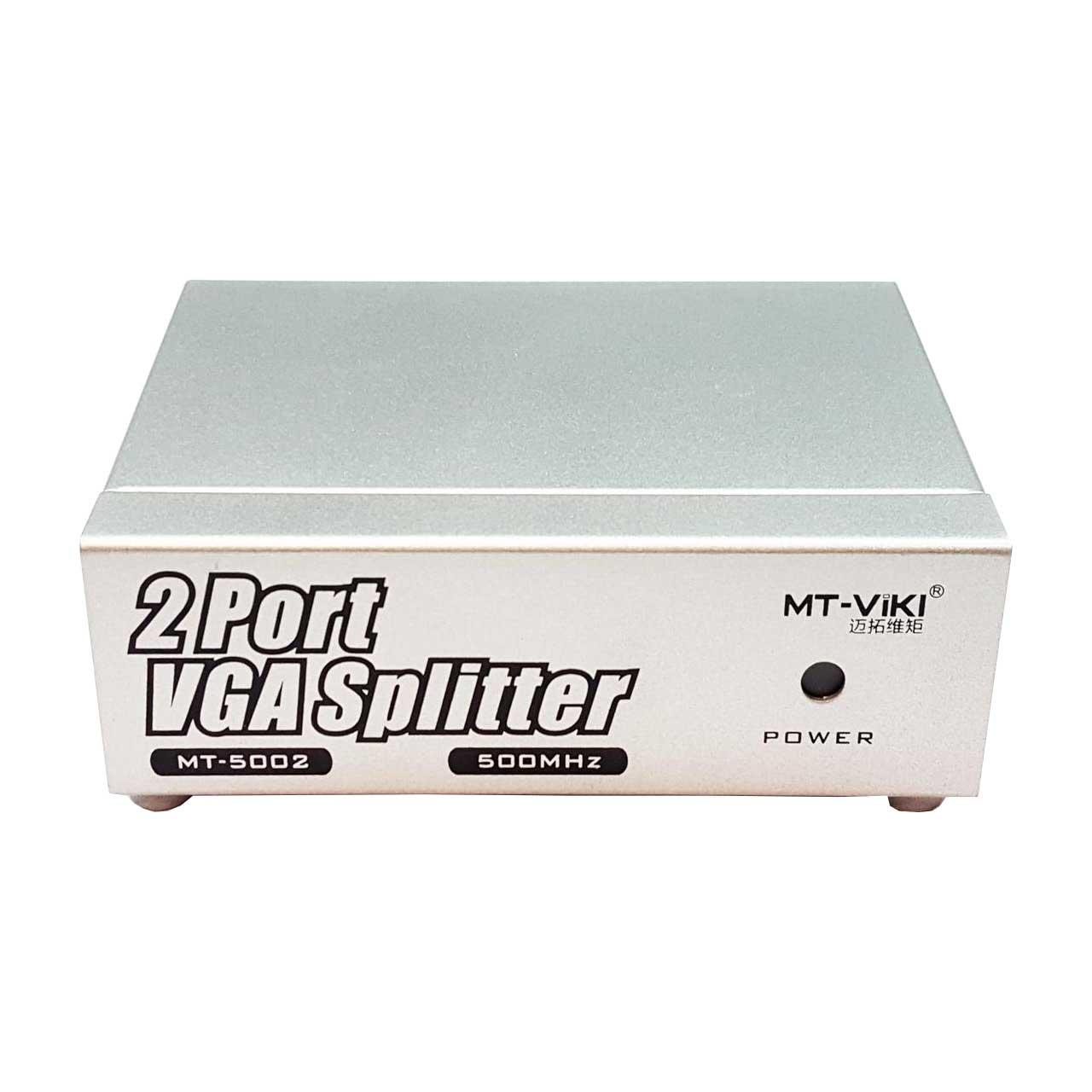 اسپلیتر 1 به 2 VGA ام تی ویکی مدل MT-M500