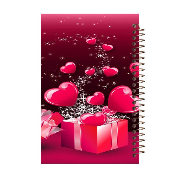 دفتر یادداشت مشایخ طرح جعبه کادو کد 5003