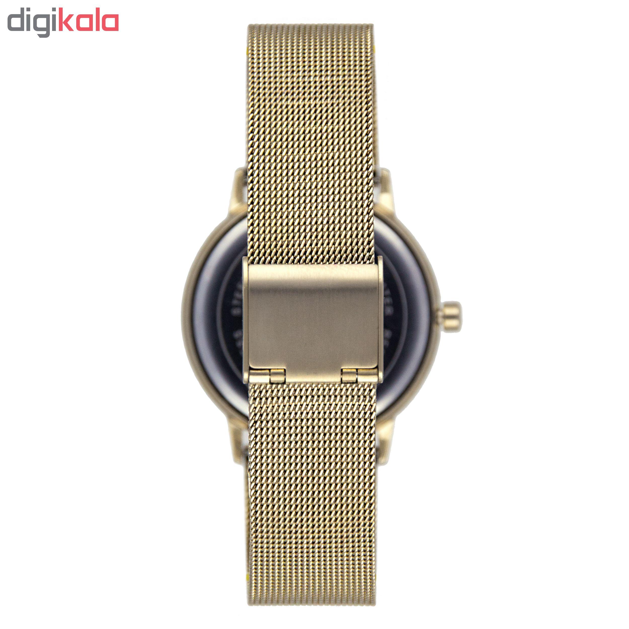 ساعت مچی عقربه ای زنانه جی کی بی اس مدل SN-2535-SG              خرید (⭐️⭐️⭐️)