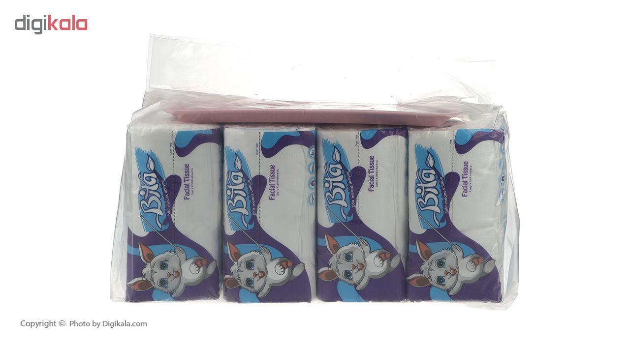 دستمال کاغذی 250 برگ بیتا بسته 8 عددی main 1 5