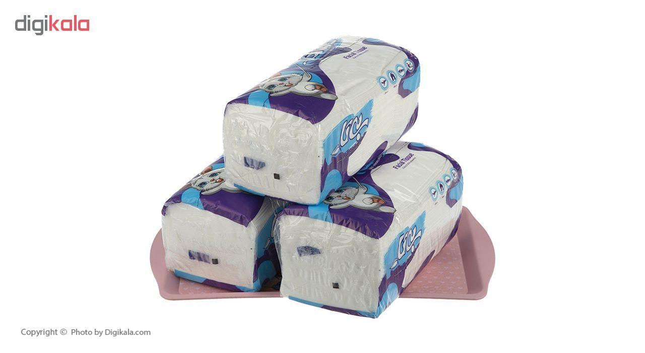 دستمال کاغذی 250 برگ بیتا بسته 8 عددی main 1 6
