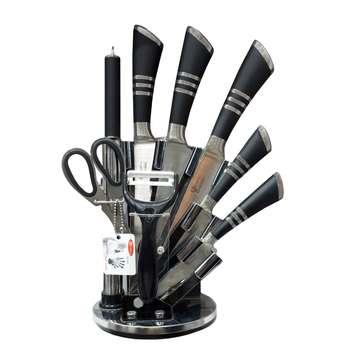 سرویس چاقو آشپزخانه 9 پارچه فوما مدل FU-533
