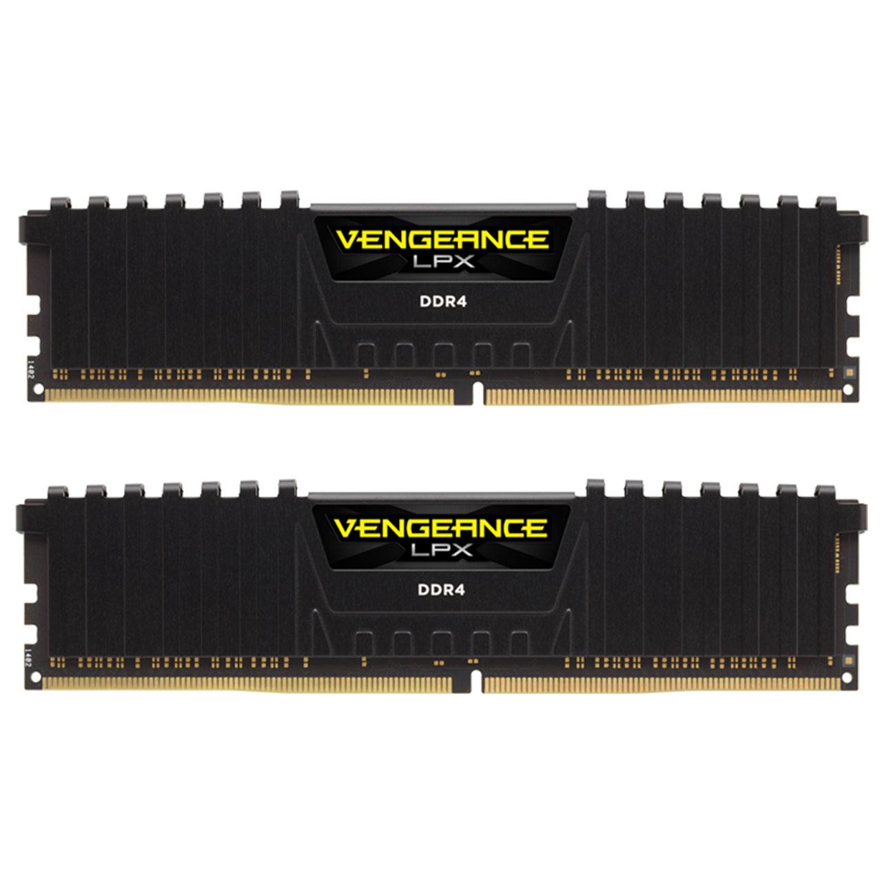 بررسی و {خرید با تخفیف} رم دسکتاپ DDR4 دو کاناله 3200 مگاهرتز CL16 کورسیر مدل Vengeance LPX ظرفیت 16 گیگابایت اصل