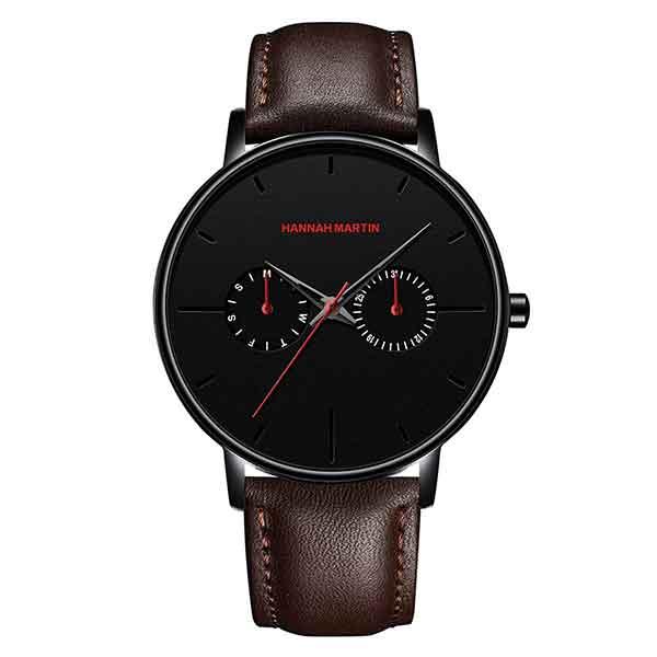 کد تخفیف                                      ساعت مچی عقربه ای مردانه هانا مارتین مدل HM-D1 کد 01