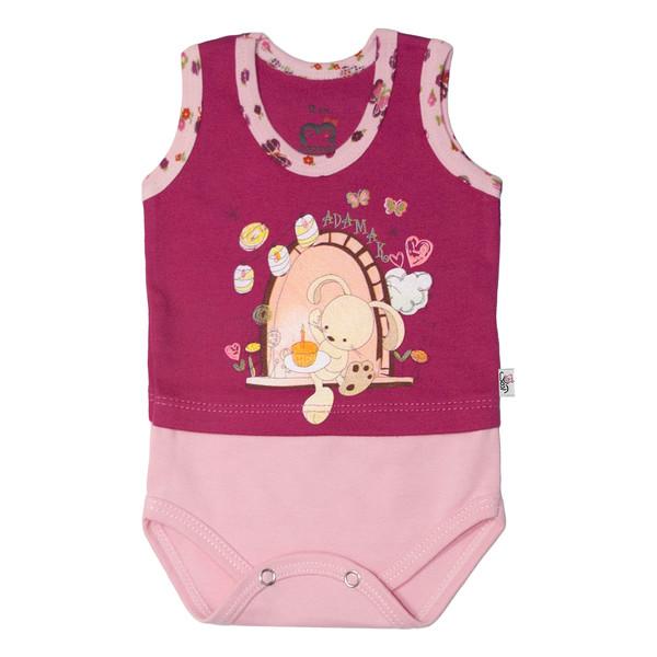 بادی نوزاد آدمک طرح خرگوش و پروانه کد 02