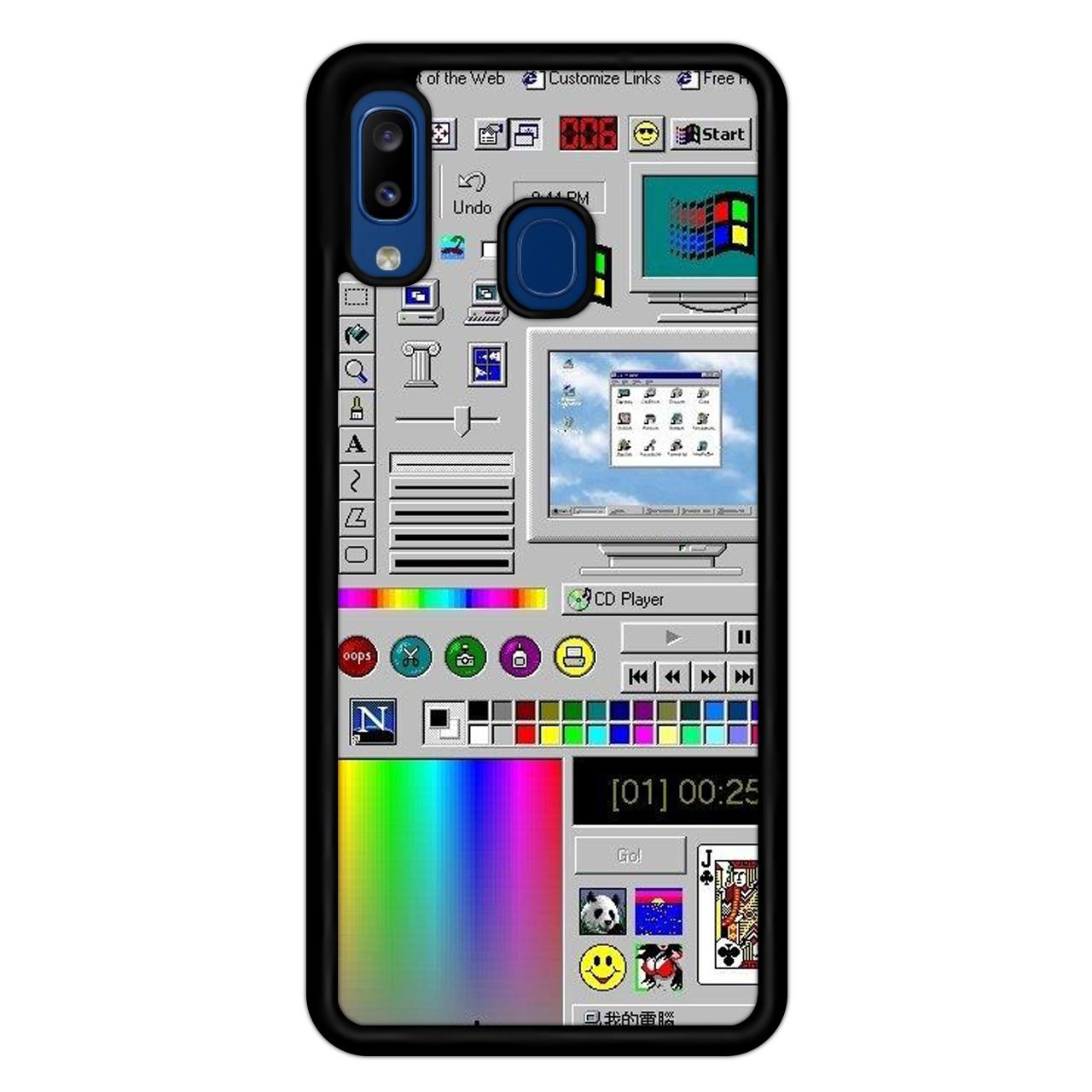 کاور آکام مدل Aa201704 مناسب برای گوشی موبایل سامسونگ Galaxy A20/A30