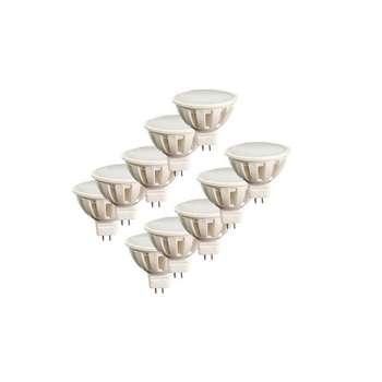 لامپ ال ای دی 5 وات مدل AB10 پایه GU5.3 بسته 10 عددی