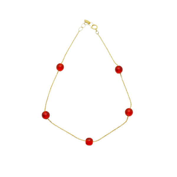 پابند طلا 18 عیار زنانه مایا ماهک مدل MA0122