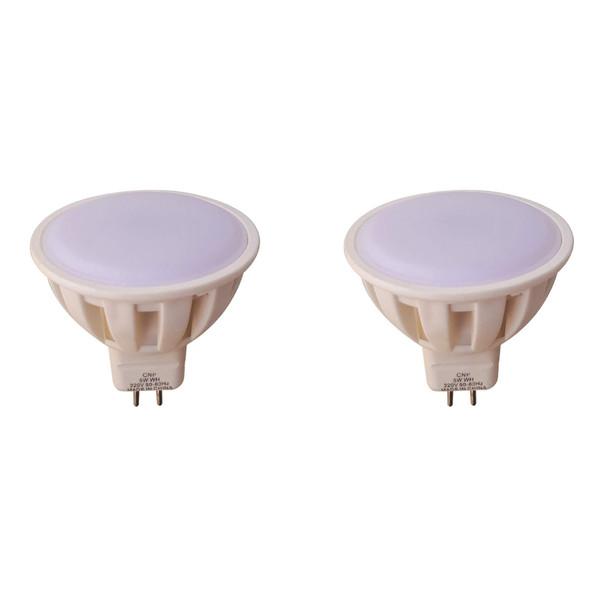 لامپ هالوژن ال ای دی 5 وات مدل CNP پایه سوزنی بسته 2 عددی