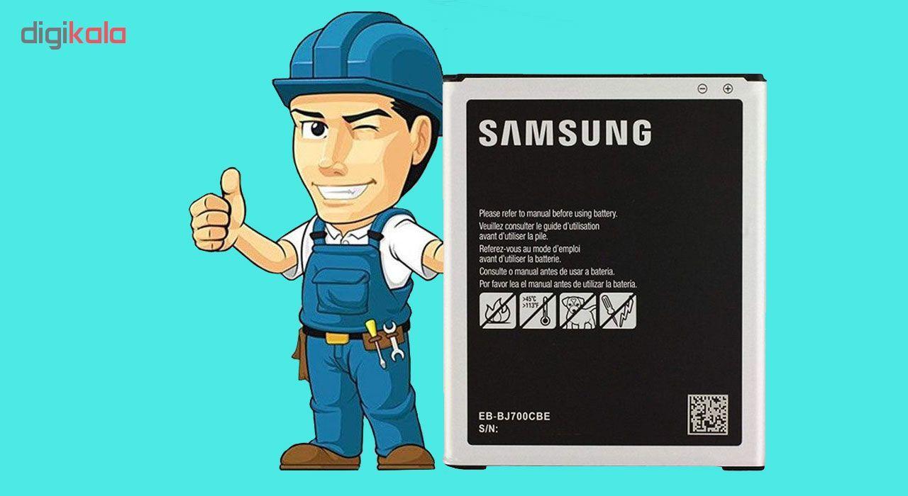 باتری موبایل مدل EB-BJ700CBE ظرفیت 3000 میلی آمپر ساعت مناسب برای گوشی موبایل سامسونگ Galaxy J7 main 1 1