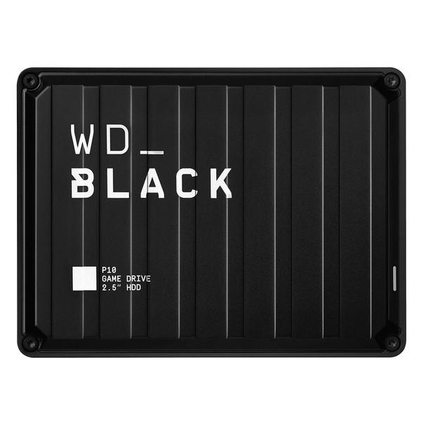 هارد اکسترنال وسترن دیجیتال مدل WD_Black P10 Game Drive ظرفیت 5 ترابایت