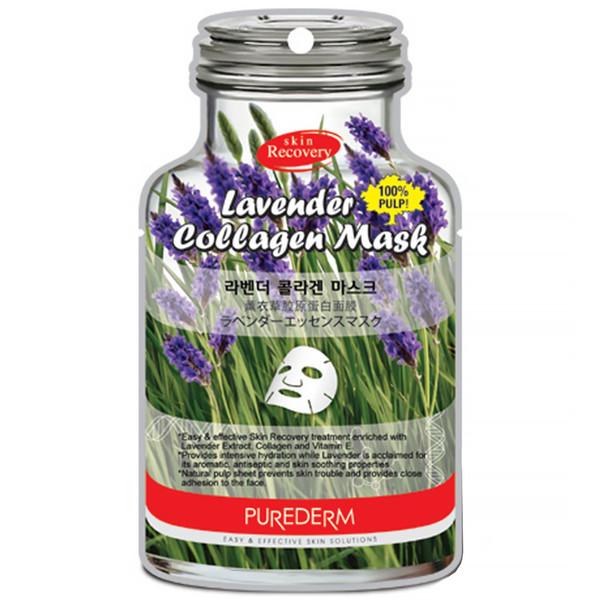 ماسک نقابی پیوردرم مدل Lavender - یک ورق