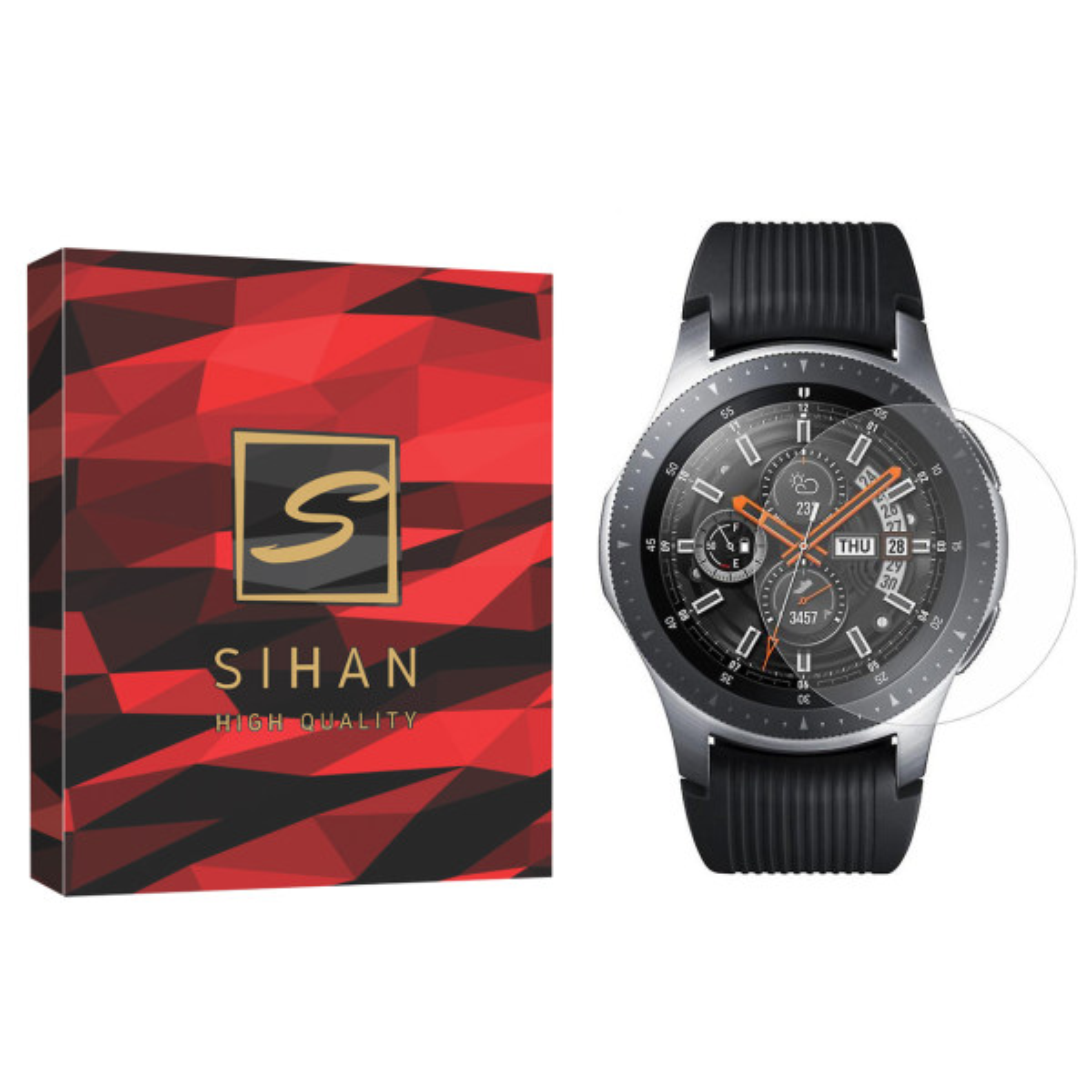 محافظ صفحه نمایش سیحان مدل CLT مناسب برای ساعت هوشمند سامسونگ Galaxy Watch 42mm