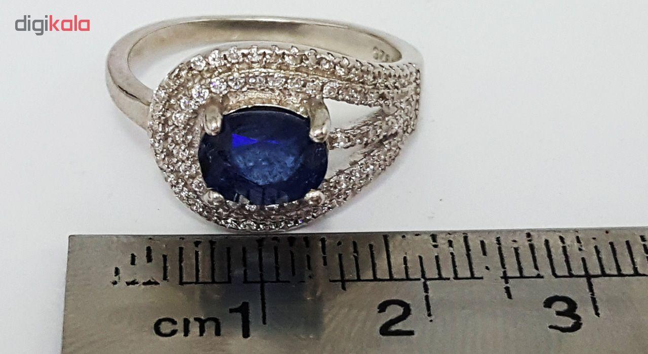انگشتر نقره زنانه گالری احد کد 4968