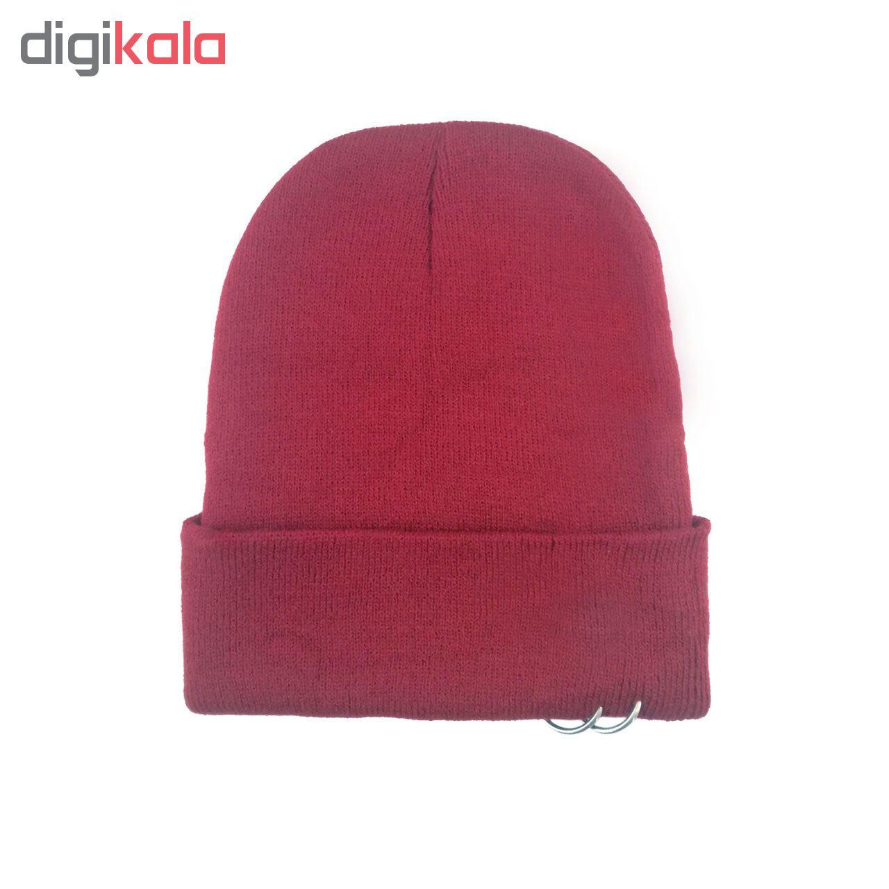 کلاه بافتنی کد M218