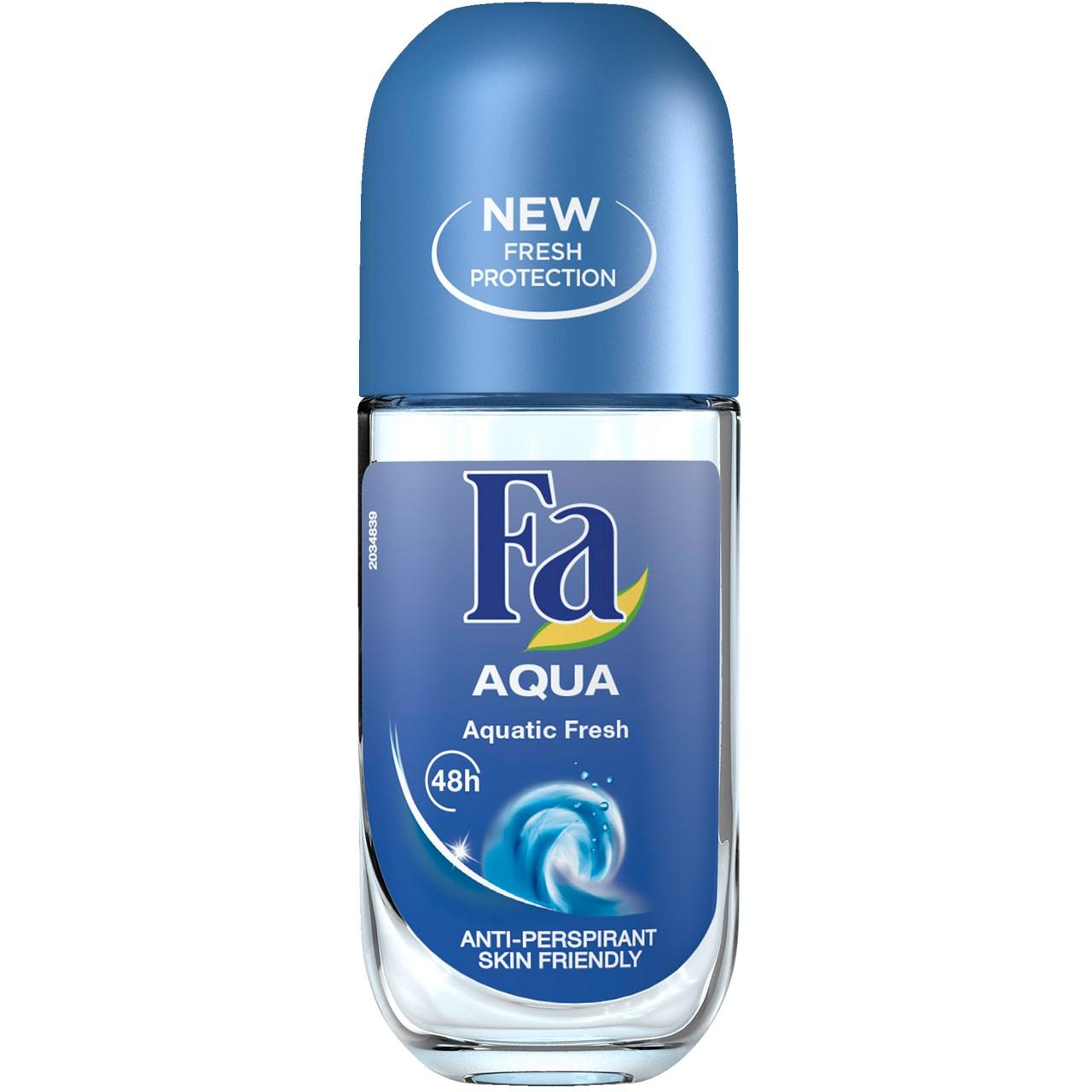 قیمت رول ضد تعریق مردانه فا مدل Aqua Anti Perspirant حجم 50 میلی لیتر