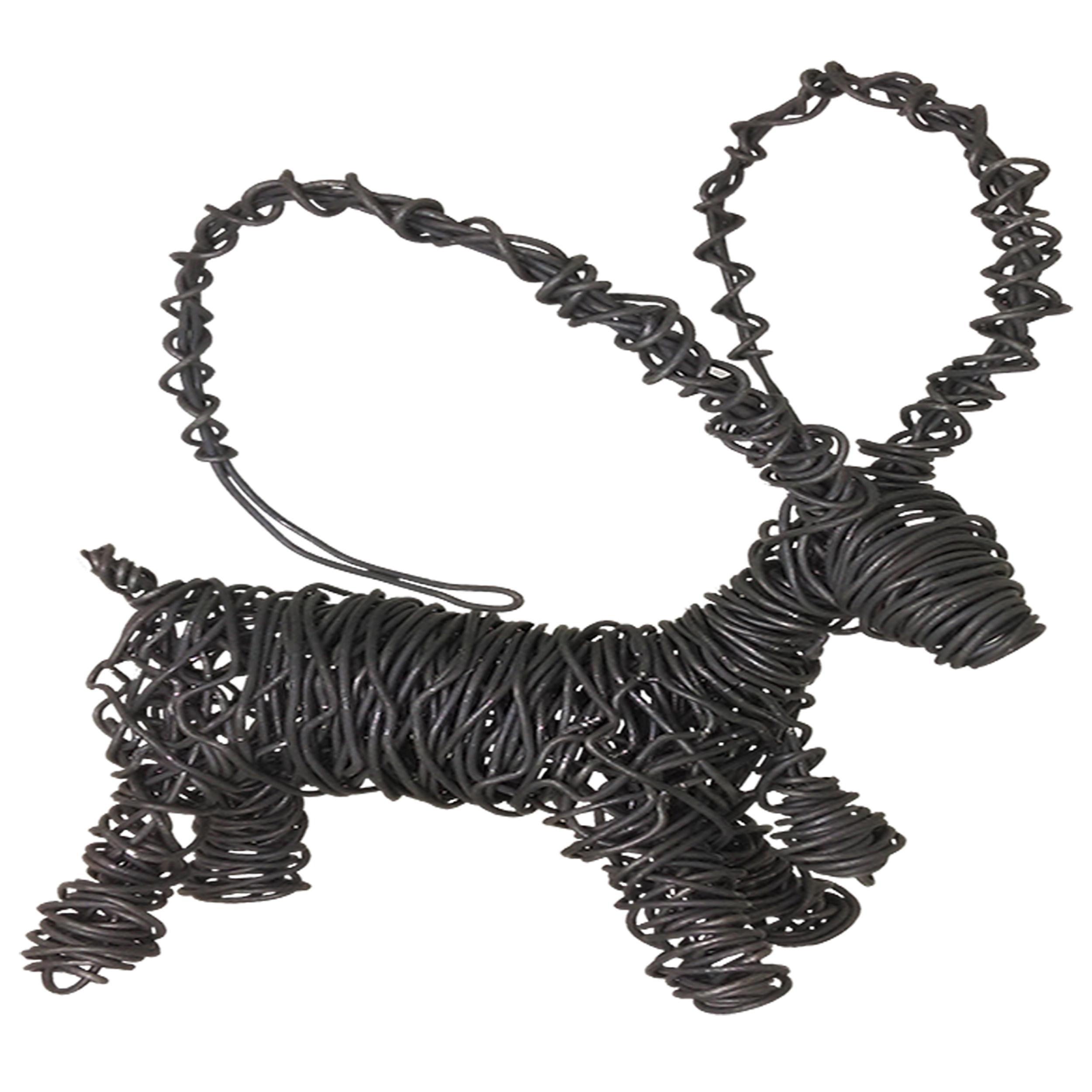 تندیس فلزی مدل Mountain goat کد 12