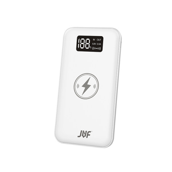 شارژر همراه بی سیم جی وای اف مدل  W05 ظرفیت 10000 میلی آمپر ساعت