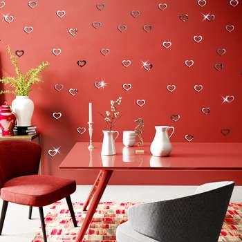 آینه پدیده شاپ طرح Heart کد 50