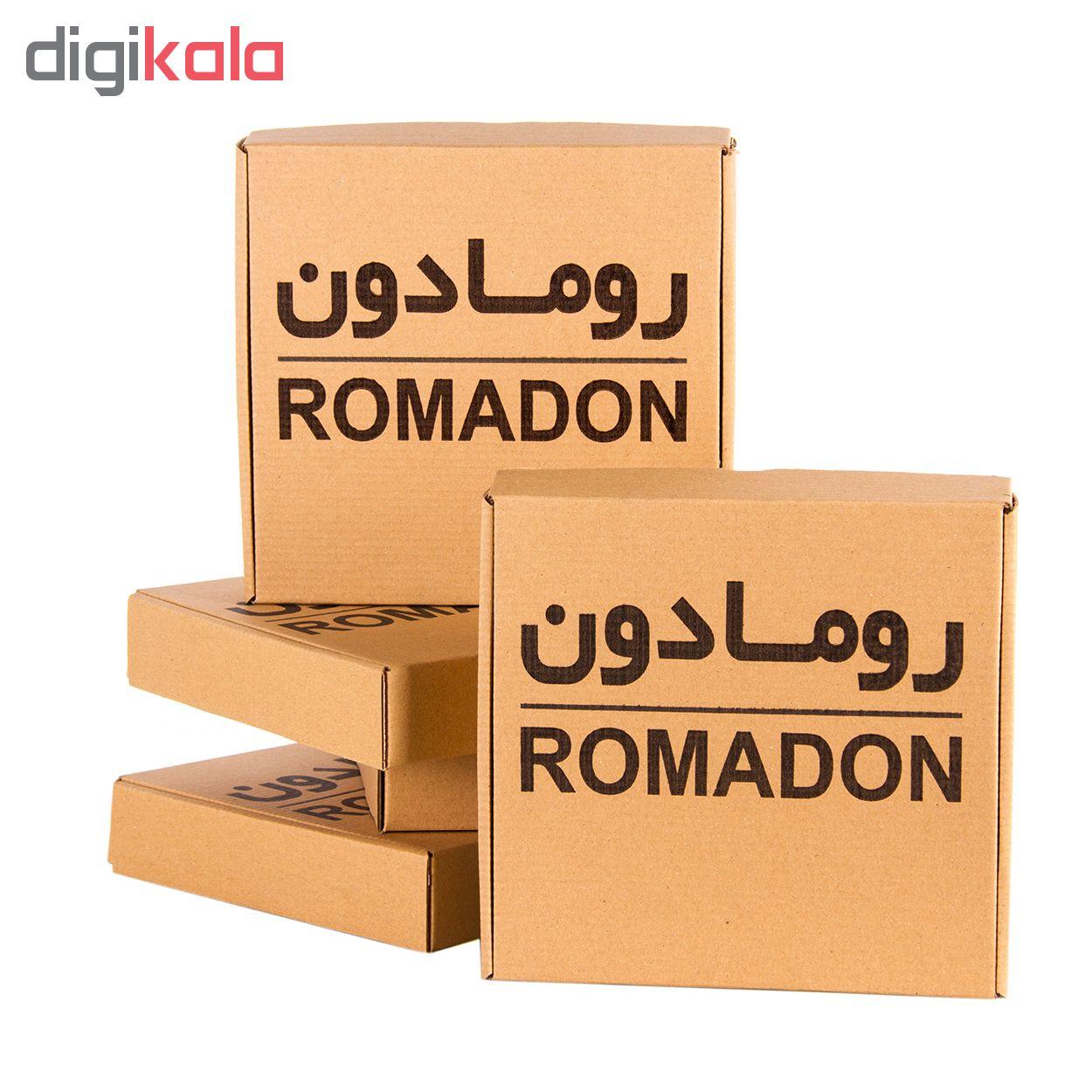 حلقه دستمال رومادون کد 107 بسته 6 عددی