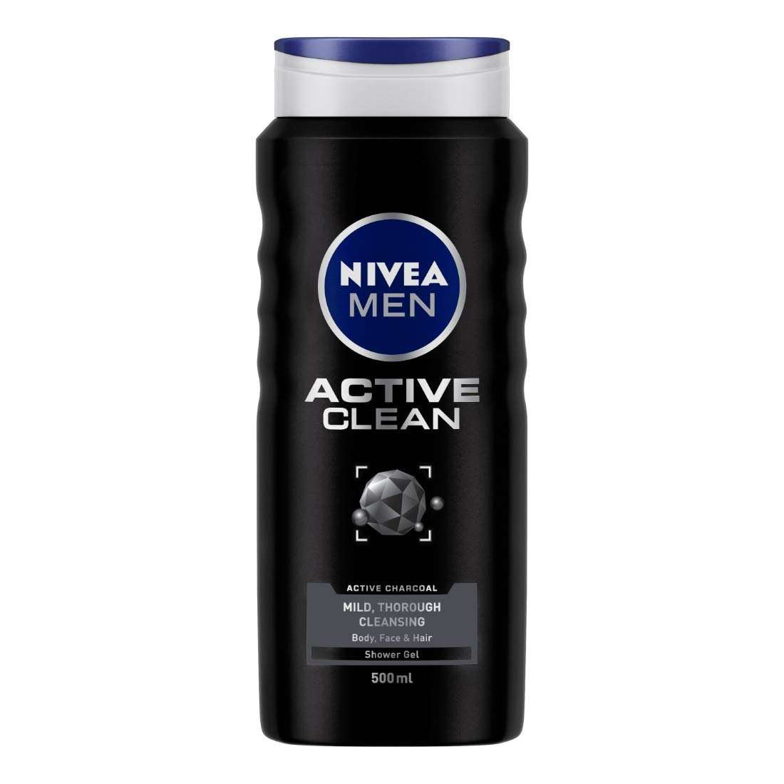شامپو مو و بدن نیوآ مدل Active Clean حجم 500 میلی لیتر -  - 2