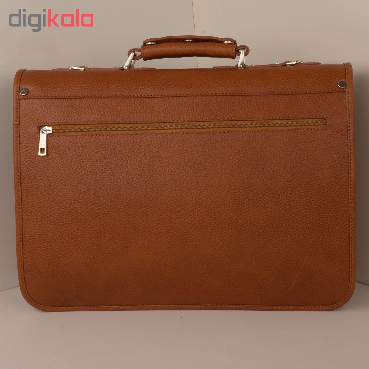 کیف اداری مردانه کهن چرم مدل L160-1 main 1 3