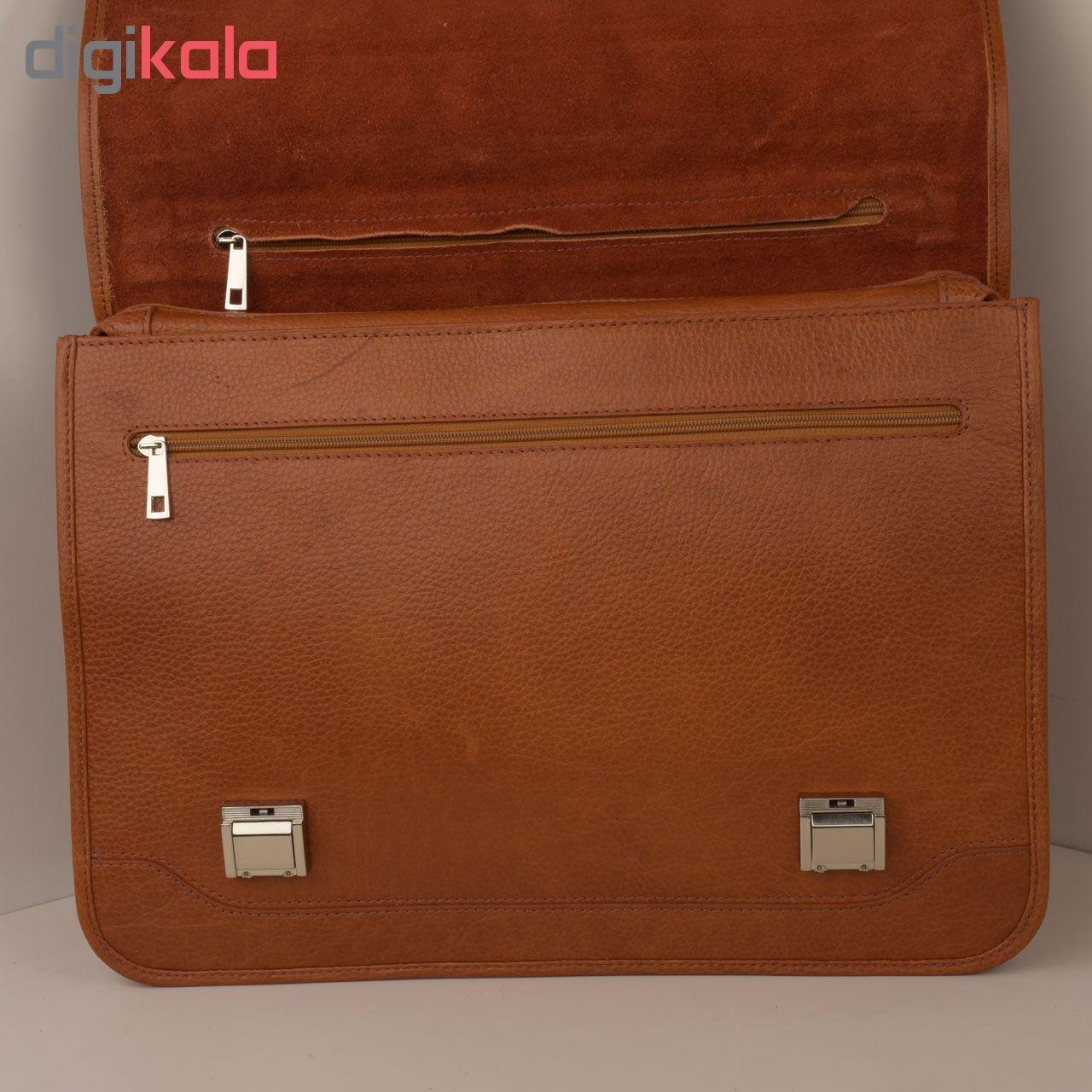 کیف اداری مردانه کهن چرم مدل L160-1 main 1 7