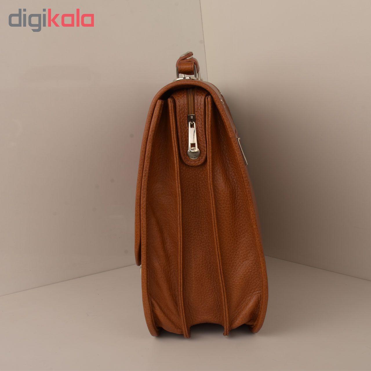 کیف اداری مردانه کهن چرم مدل L160-1 main 1 5