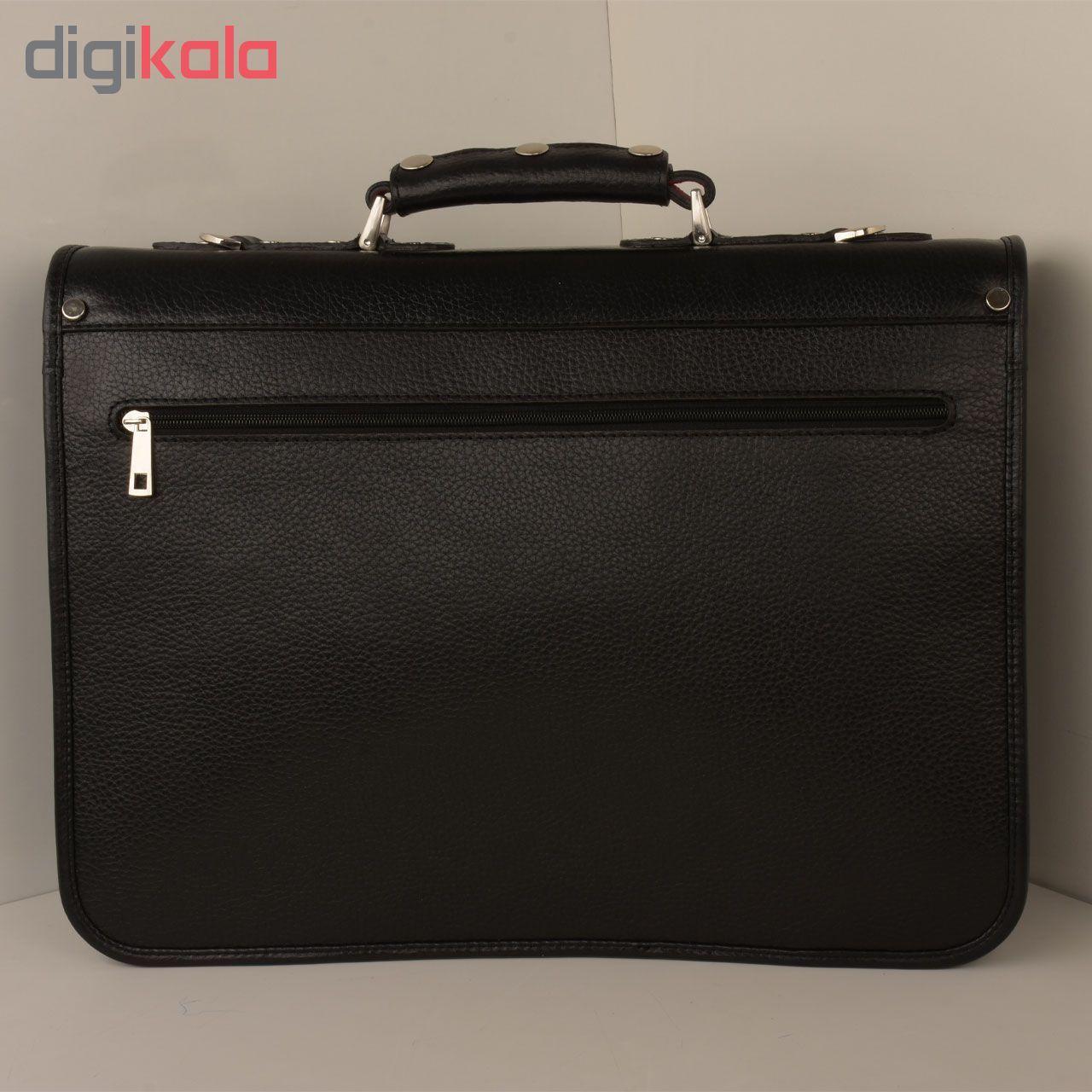 کیف اداری مردانه کهن چرم مدل L160-1 main 1 14