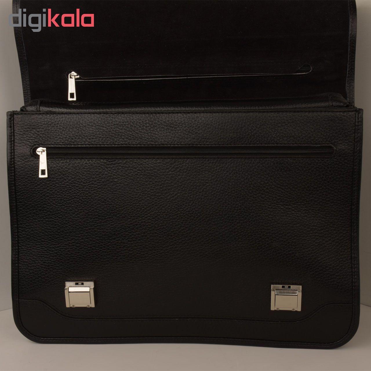 کیف اداری مردانه کهن چرم مدل L160-1 main 1 16
