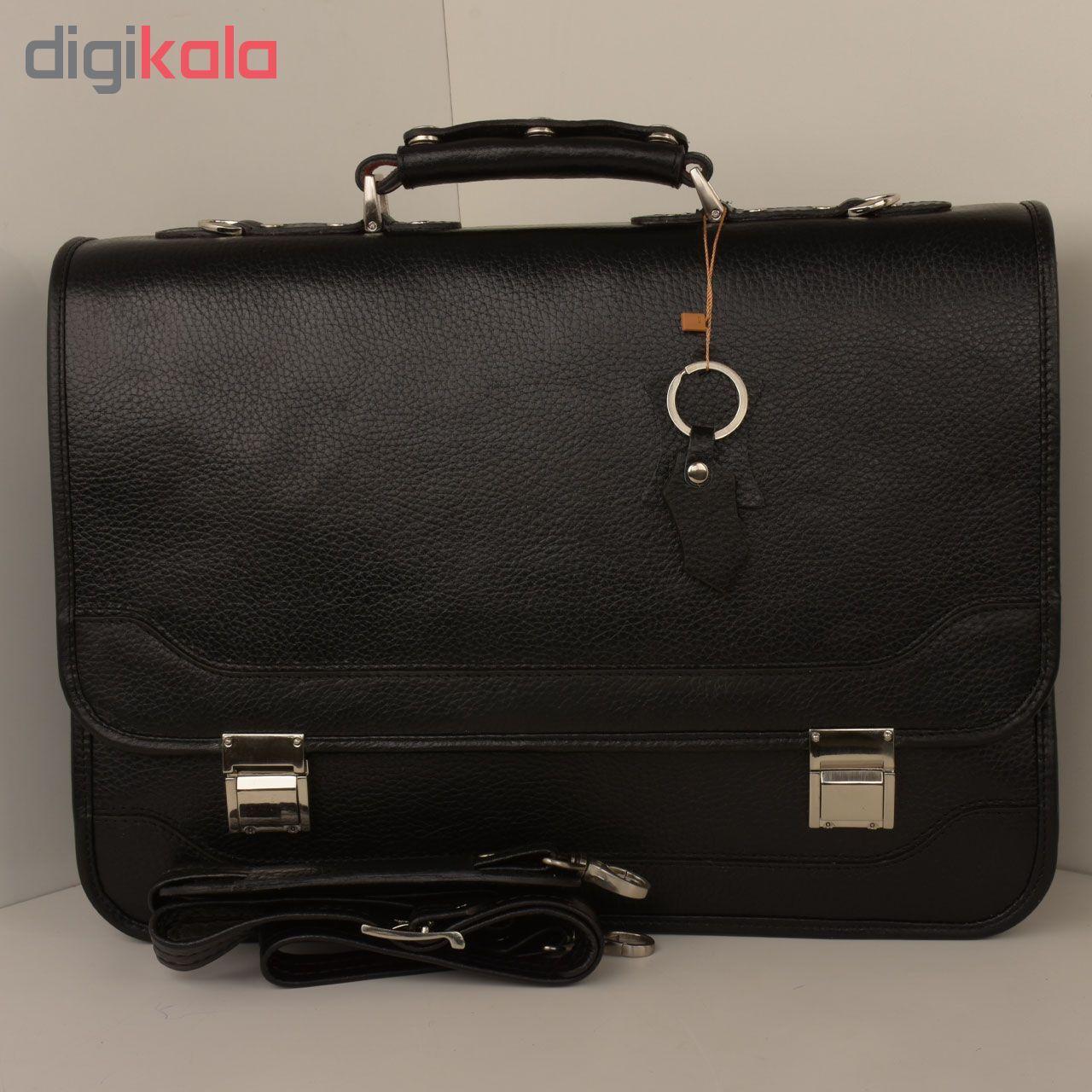 کیف اداری مردانه کهن چرم مدل L160-1 main 1 17