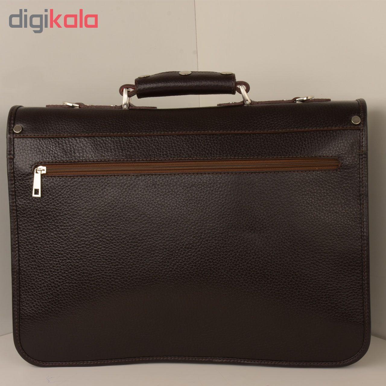 کیف اداری مردانه کهن چرم مدل L160-1 main 1 24