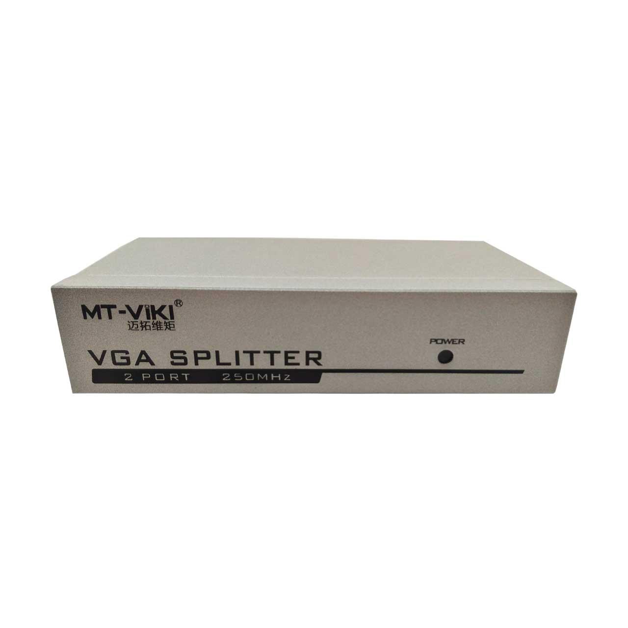 اسپلیتر 1 به 2 VGA ام تی ویکی مدل MT-M250