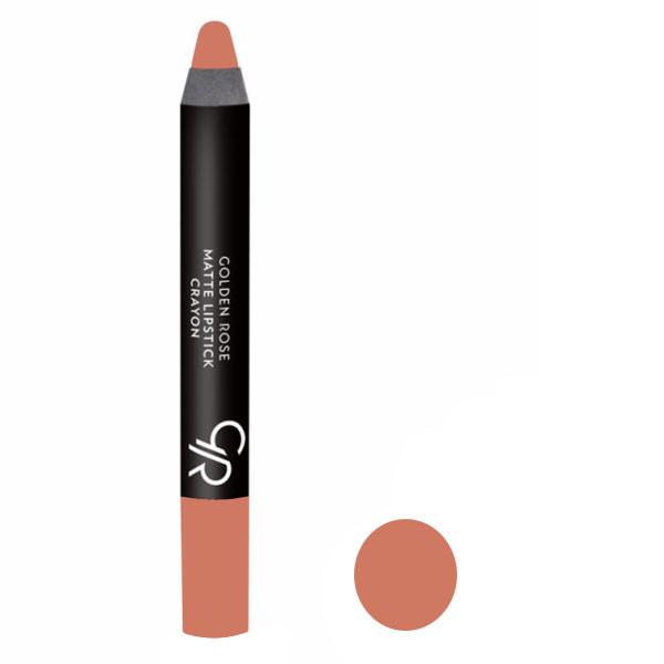رژ لب مدادی گلدن رز مدل Crayon شماره 101