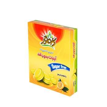 آبنبات بدون قند با طعم لیمو کامور  مقدار 130 گرم