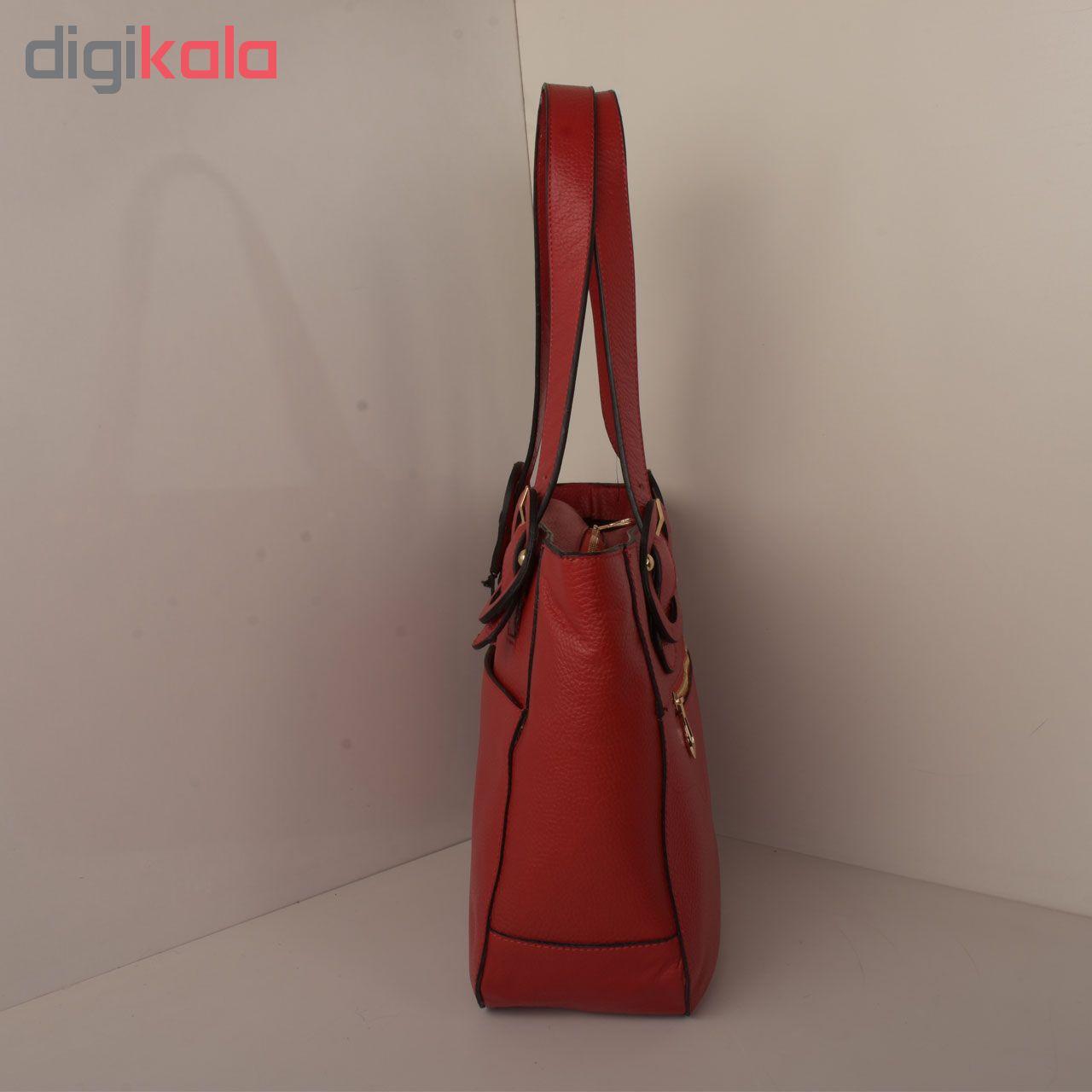 کیف دستی زنانه پارینه چرم کد V190-2
