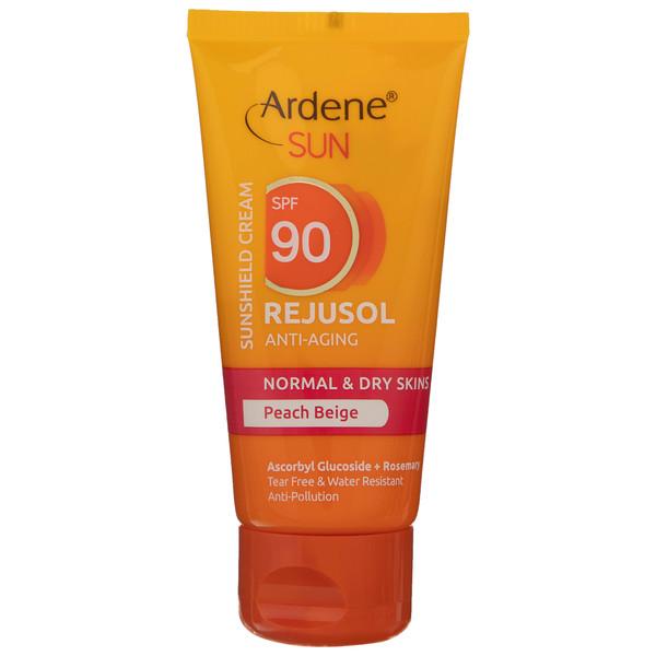 کرم ضد آفتاب مدل آردن مدل Peach Beige مقدار 50 گرم
