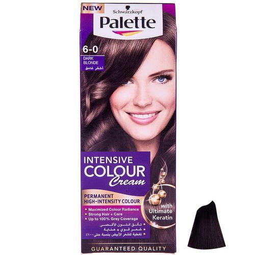 کیت رنگ مو پلت سری Intensive Colour Cream مدل بلوند تیره شماره 0-6