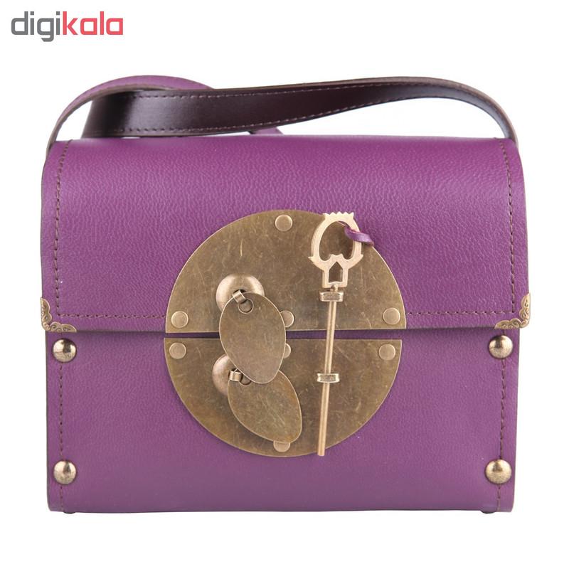 کیف دوشی زنانه مدل ترنج
