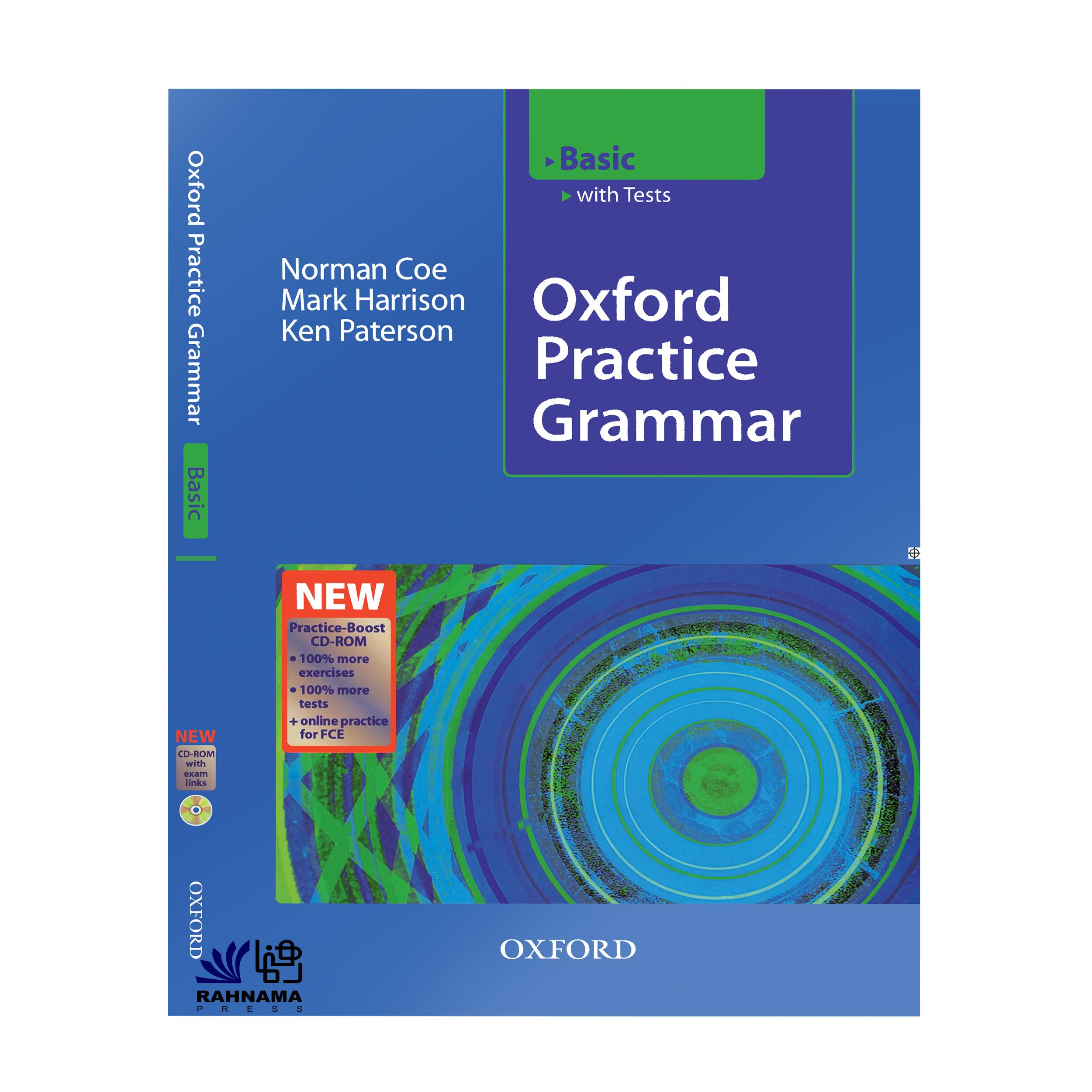 کتاب OXFORD PRACTICE GRAMMAR BASIC  اثر جمعی از نویسندگان   انتشارات رهنما