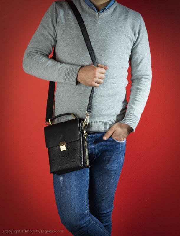 کیف رودوشی مردانه مارال چرم مدل 3403010036