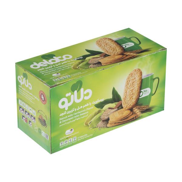 بیسکویت با طعم هل و تزیین کنجد دلاتو - 850 گرم