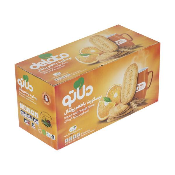 بیسکویت با طعم پرتقال دلاتو - 900 گرم