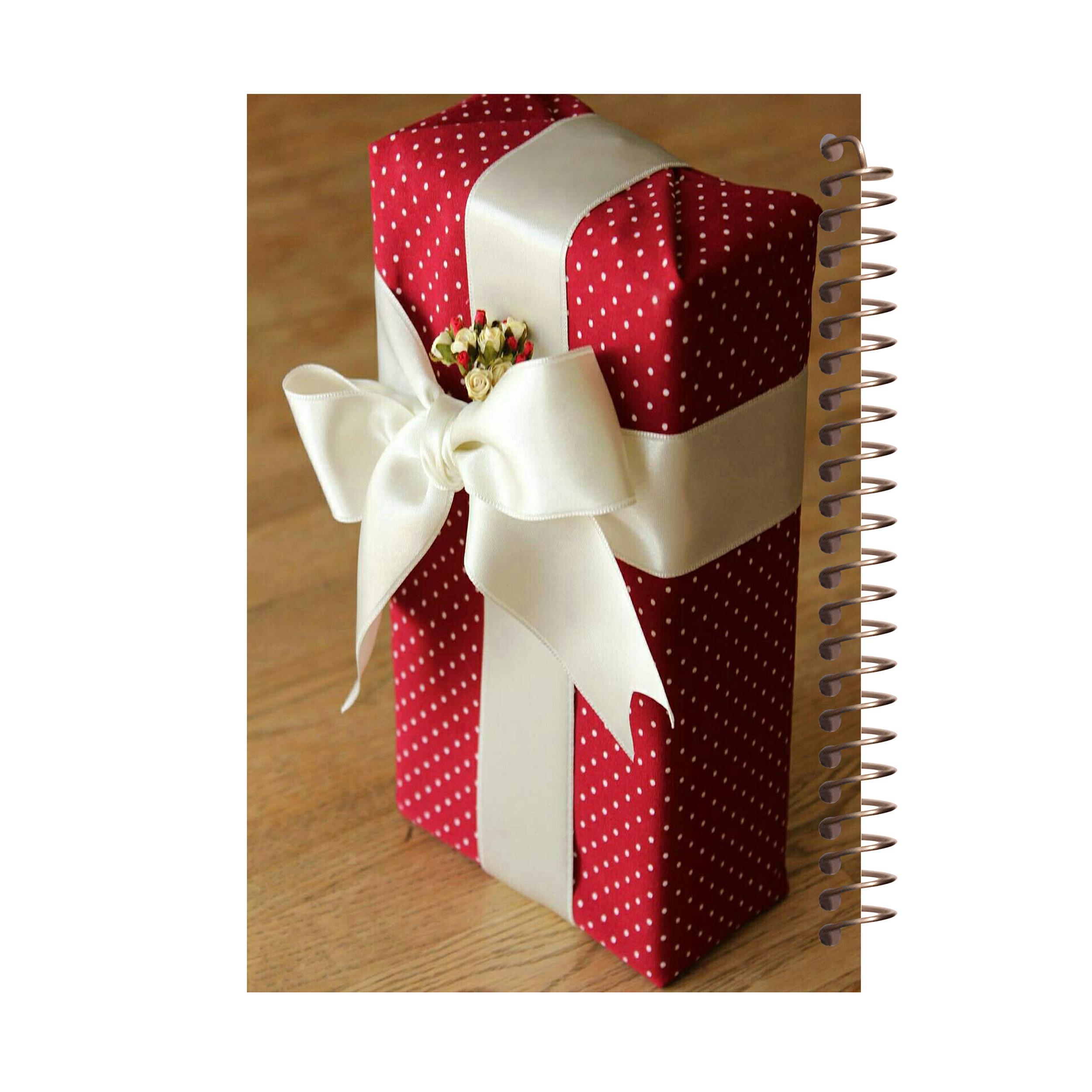 دفتر یادداشت مشایخ طرح جعبه کادویی کد 7008