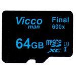 کارت حافظه microSDXC ویکومن مدل Final 600x کلاس 10 استاندارد UHS-I U3 سرعت90MBps ظرفیت 64 گیگابایت  thumb