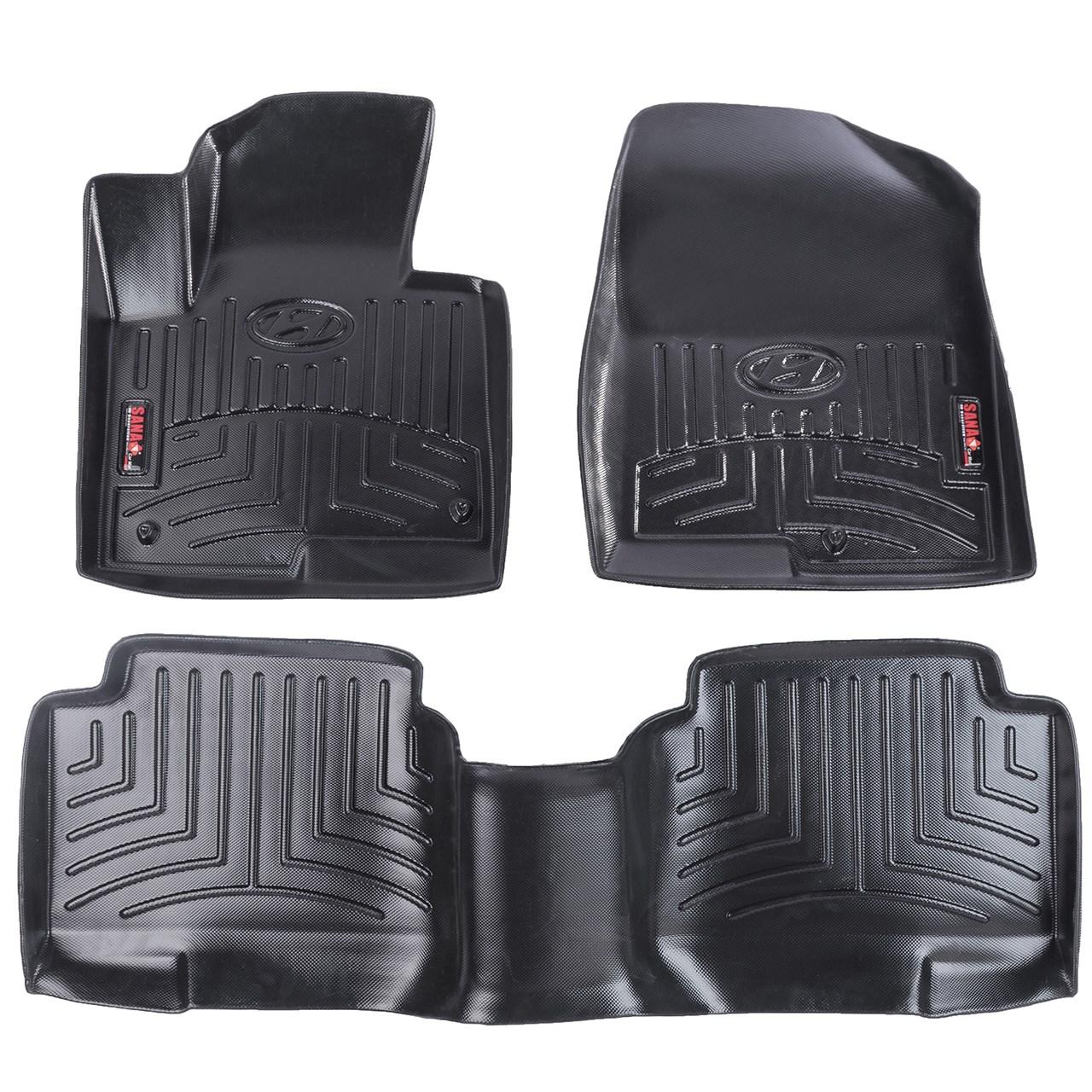 کفپوش سه بعدی خودرو سانا مناسب برای هیوندای IX45