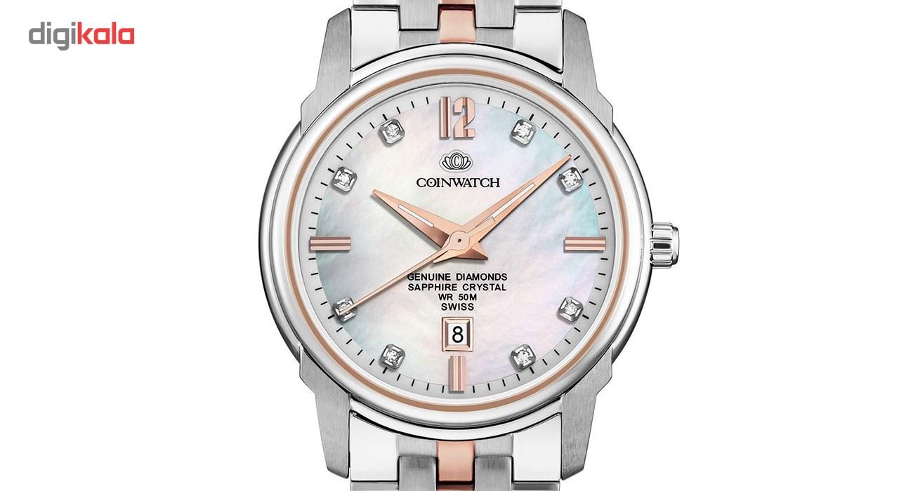 ساعت زنانه برند کوین واچ مدل C137RWH