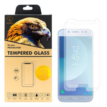 محافظ صفحه نمایش گلدن ایگل مدل GLC-X2 مناسب برای گوشی موبایل سامسونگ  Galaxy J5 Pro بسته دو عددی